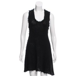 NWT 100% Cotton IRO Black Tank Sinner Dress